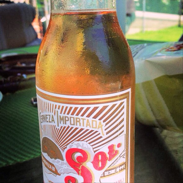 Sol Beer @ Tony's Sutton Pizza Restaurant
