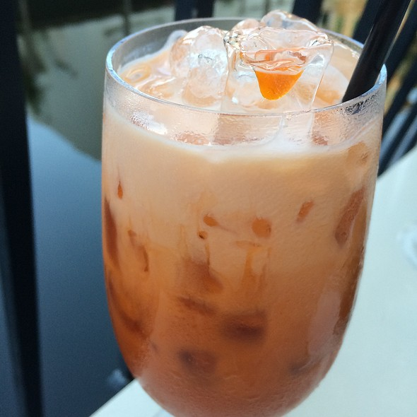 Thai Iced Tea - Asia Bay Sushi Bar & Thai, Fort Lauderdale, FL