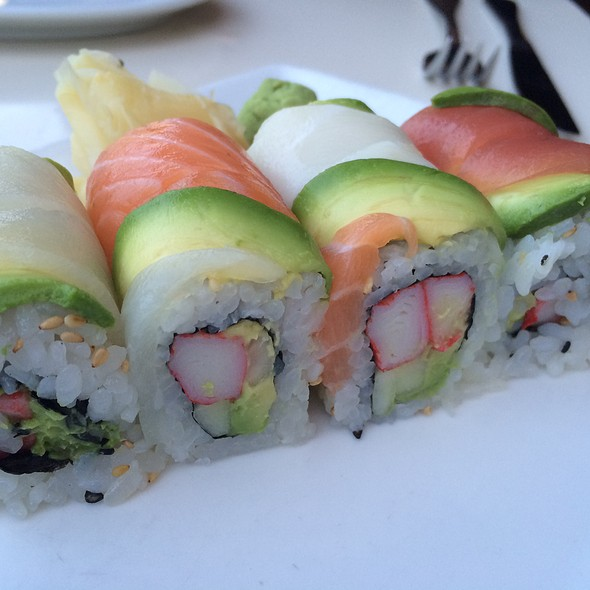 Rainbow Roll - Asia Bay Sushi Bar & Thai, Fort Lauderdale, FL