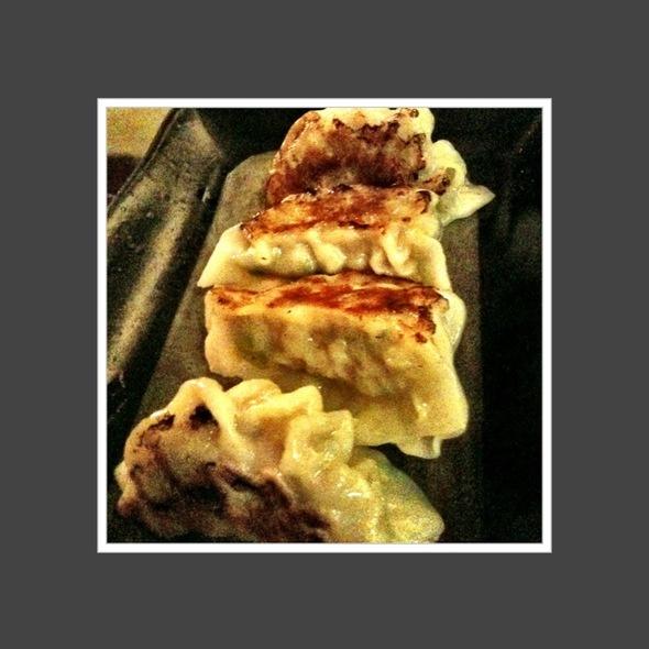 Fried Gyoza @ Riki Restaurant