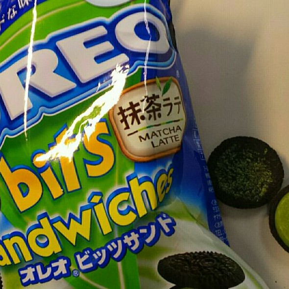 Matcha Green Tea Oreos