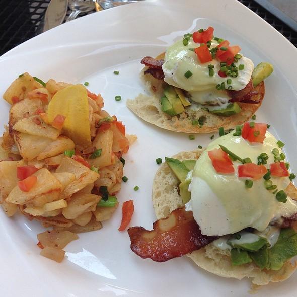 Mexican Eggs Benedict - Mesa Modern Mexican, Easton, PA