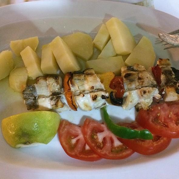 Swordfish Souflaki @ Kapetan Nikolas