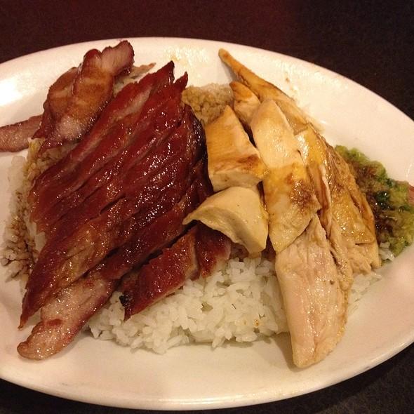 Roast Pork With Chicken Over Rice @ Big Wong Restaurant