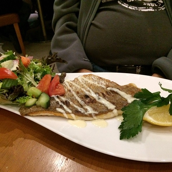 Grill Snaper Fish @ Cyren Restaurant and Bar