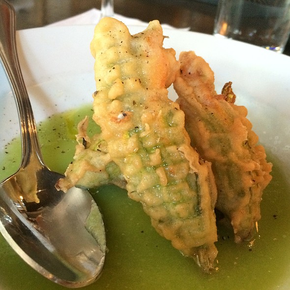 Special App Stuffed Squash blossoms