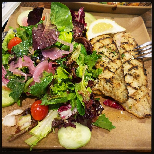 Grilled Red Snapper @ The Fish Shop Hermosa Beach