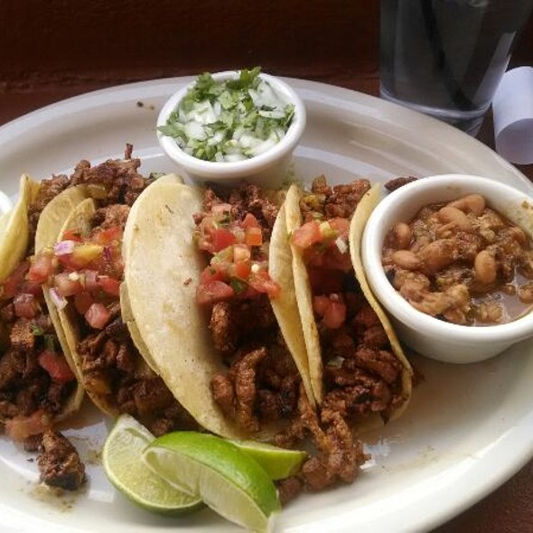 Al Pastor Tacos @ Coyote Cafe Rooftop Cantina