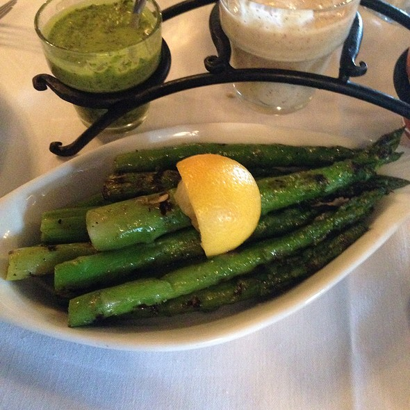 Grilled Asparagus - La Boca Steakhouse, New Orleans, LA