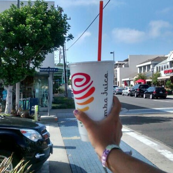 Smoothie @ Jamba Juice Manhattan Beach