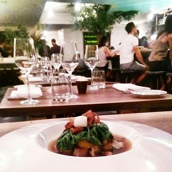 tofu gnocchi @ The Musket Room