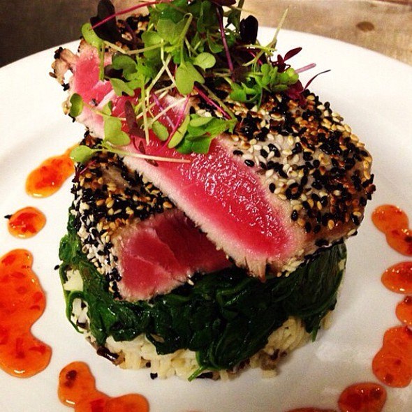 Seared Sesame Ahi Tuna - AquaTerra Grille, Pearl River, NY