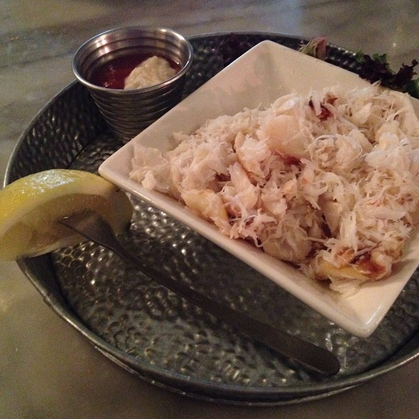 Crab Meat Cocktail @ Anchor Oyster Bar