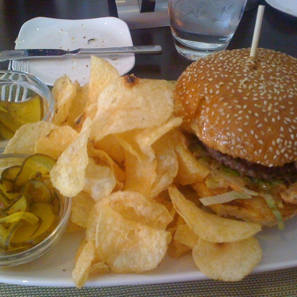 The Big Boy Burger @ InterContinental Milwaukee Hotel