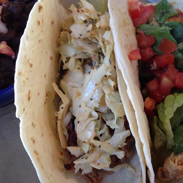 Pork And Slaw Taco