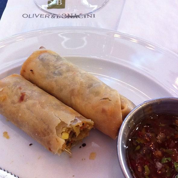 Spring Rolls - Oliver & Bonacini Cafe Grill, Blue Mountain, Blue Mountains, ON