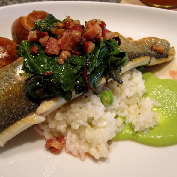 Pan roasted Carolina trout @ Empire State South