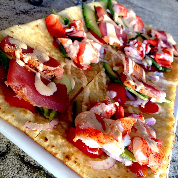 lobster and ahi flatbread - Kona Grill - Boca Park, Las Vegas, NV