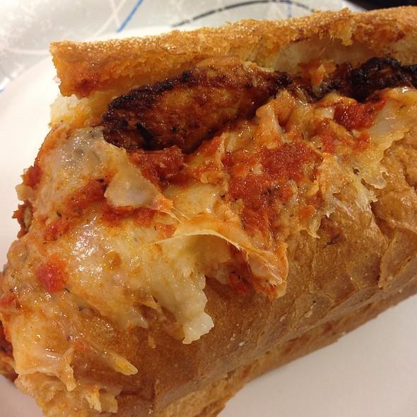 Grilled Chicken Parmigiano Hero @ La Bellezza Pizza