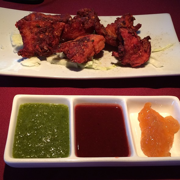fish pakoras - Moti Mahal Restaurant - 17th Ave, Calgary, AB