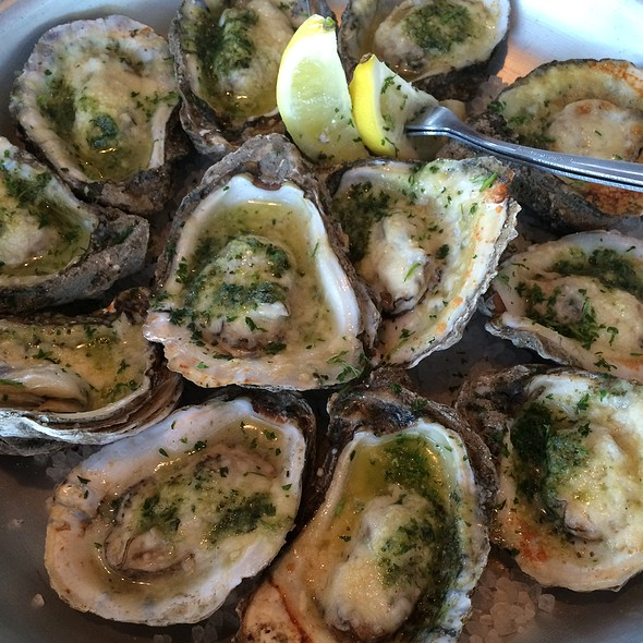 Chargrilled Oysters @ Topwater Grill