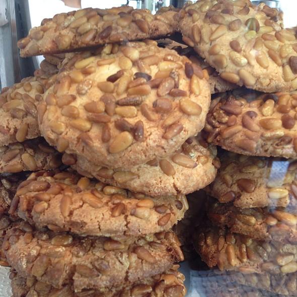 Pignoli Cookies - Cipollini Trattoria and Bar, Manhasset, NY