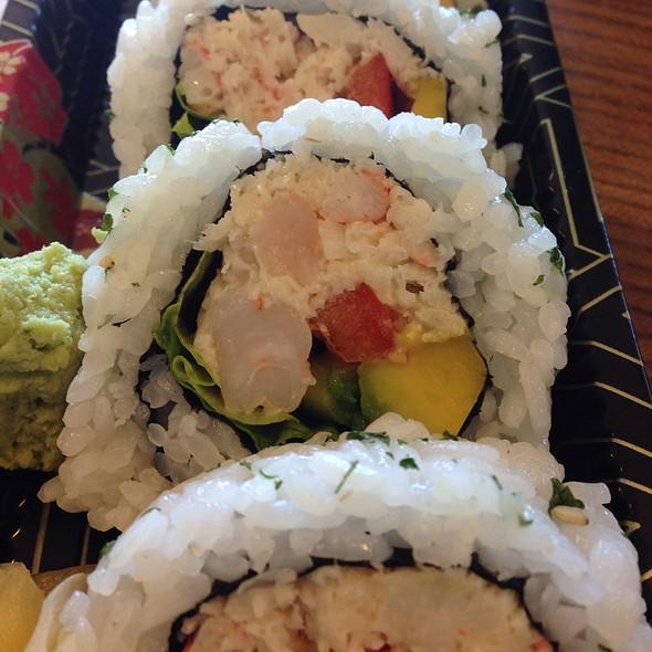 Crab And Shrimp Roll @ Delica