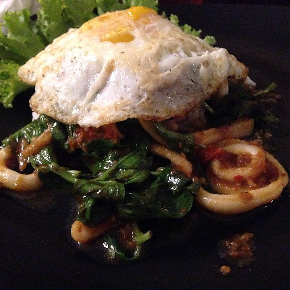 Spicy Calamari And Basil @ Thai Indo Kitchen