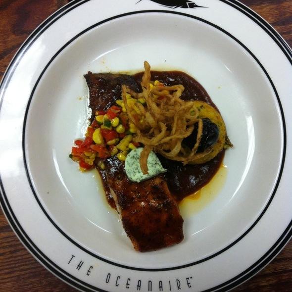 Bbq Glazed Salmon - Oceanaire Seafood Room - Atlanta, Atlanta, GA