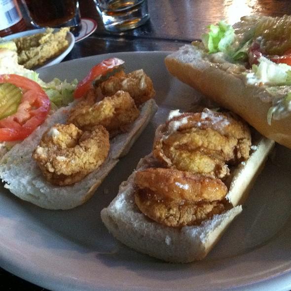 Fried Shrimp Poboy  @ Riverbend Restaurant and Bar