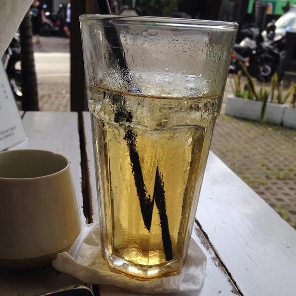 Iced Moraccan Tea @ Drop, The Coffee Spot