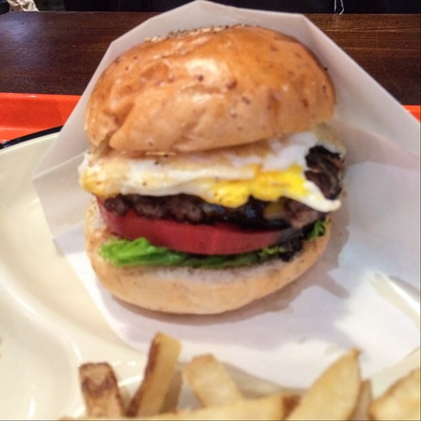 Hamburger @ SASA BURGER