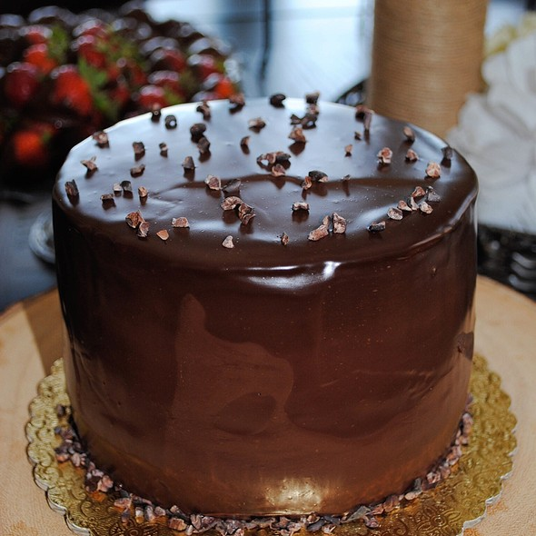 Chocolate Caramel Mousse Cake @ Sweetcharllote.Com