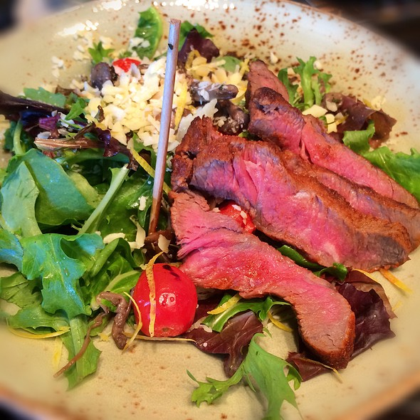 Warm Mushroom Salad With Steak @ Fionn MacCool's