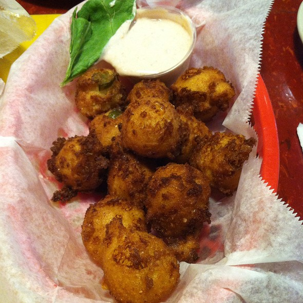 Jalapeno And Cheddar Hushpuppies @ Daddy Joes BBQ