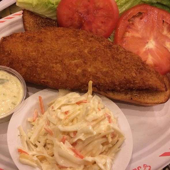 Fish Sandwich @ Junior's Restaurant (Grand Central)
