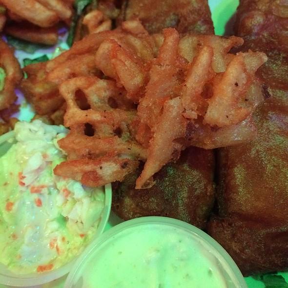 Fish and Chips @ Ellens Stardust Diner