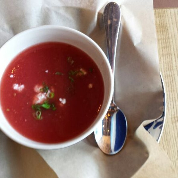 Watermelon Gazpacho @ Barrel 31