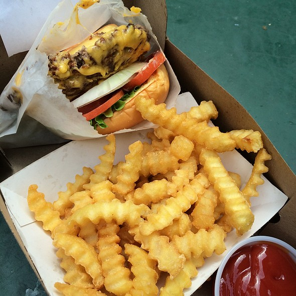 Shack Burger And Fries