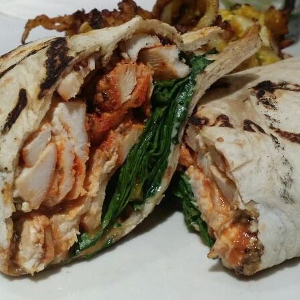 Grilled Naan Chicken Sandwich @ Indika