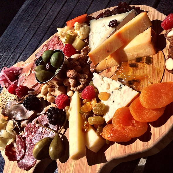 cheese & charcuterie plate - Succulent Cafe, Solvang, CA