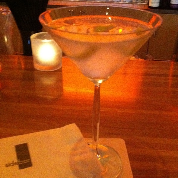 Dry Martini @ Sidebar