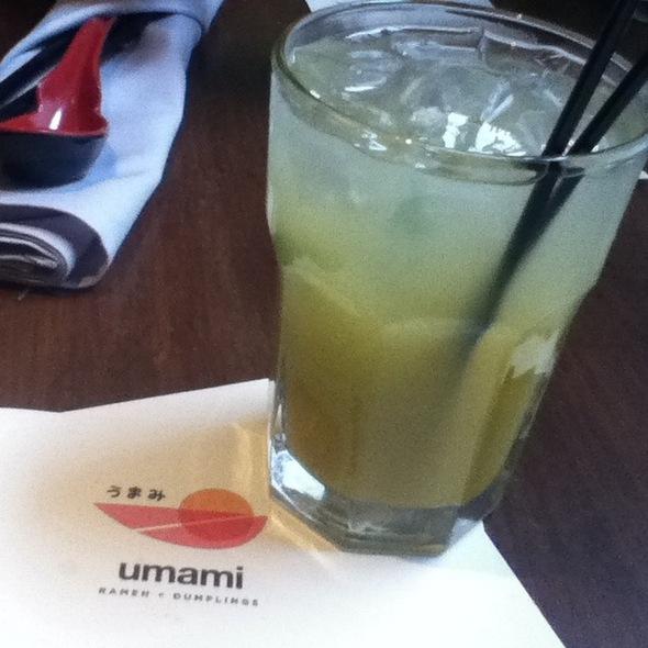 Mango Mojito @ Umami Ramen & Dumpling Bar