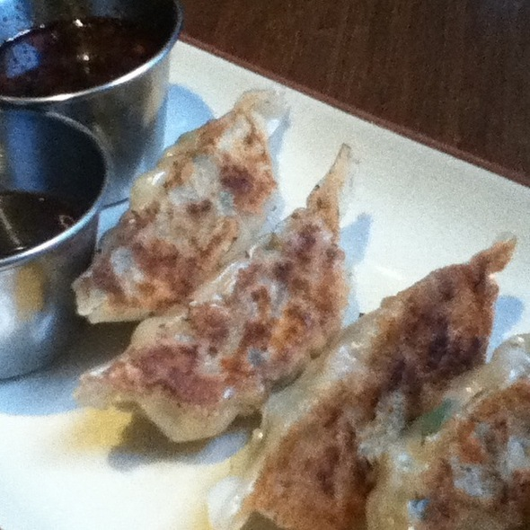Chicken And Shiitake Mushroom Dumplings @ Umami Ramen & Dumpling Bar