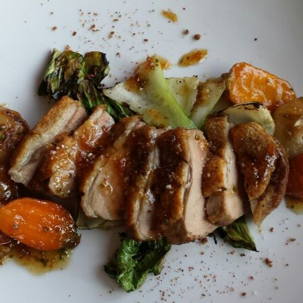 Duck Breast @ Franklin Cafe Southie