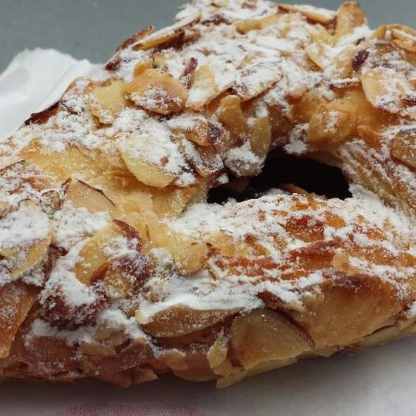 Raspberry Almond Croissant @ Cafe Madeleine
