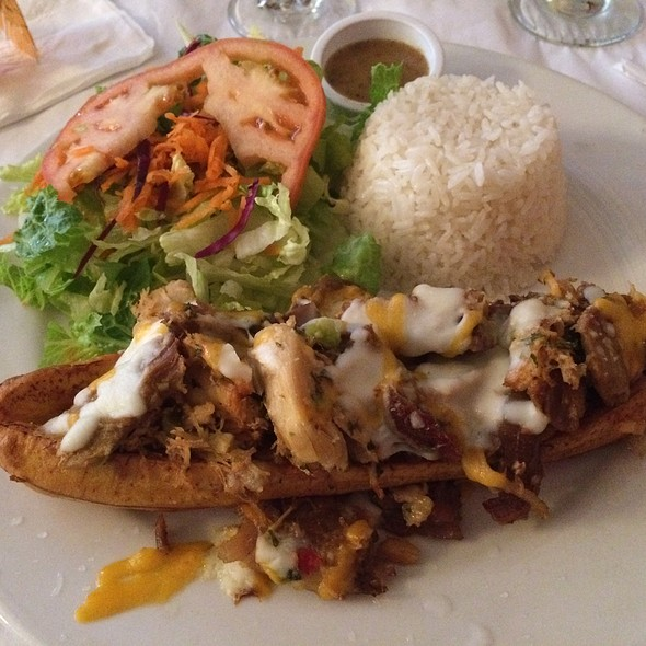 Stuffed Maduro With Roasted Pork And Chicken - Barrachina, San Juan, PR