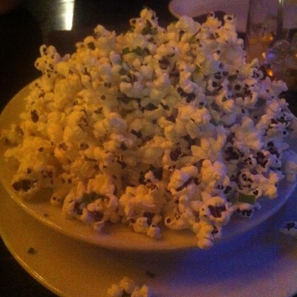 Popcorn with Truffle Salt & Parmigiano Reggiano @ Blue Ribbon Artisan Pizzeria