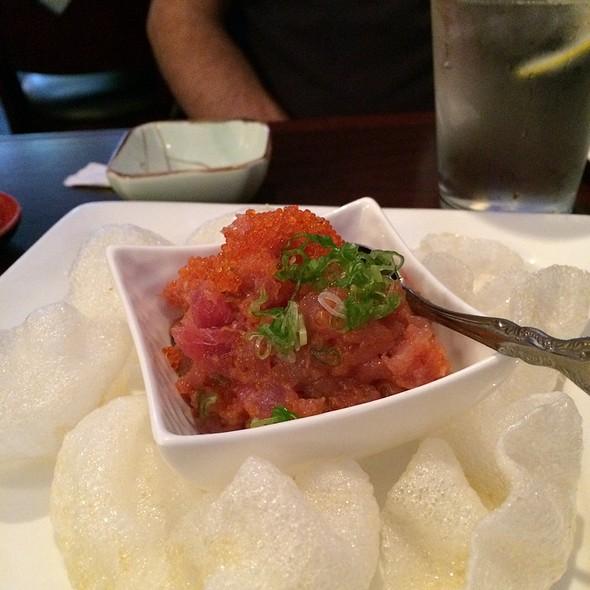 Tuna Poki @ Live Sushi Bar