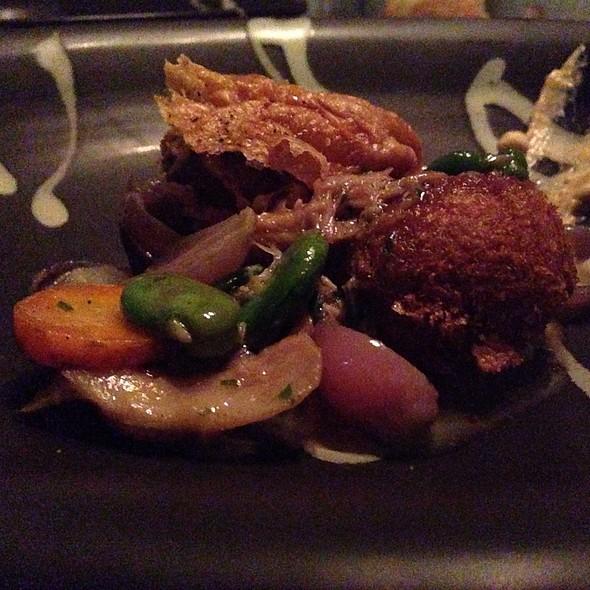 Chicken and dumplings - KITCHEN 1540, Del Mar, CA